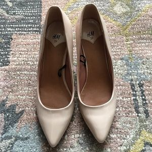 H&M nude pumps